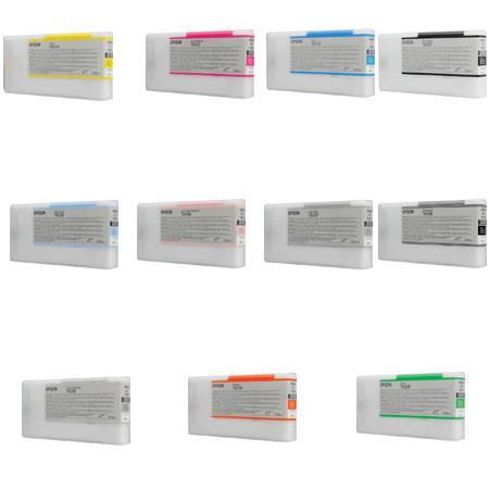 Epson Complete Ink Cartridge Set for Stylus Pro 4900 Printer