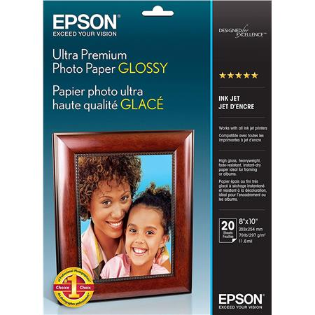 Premium Inkjet High Pro Photo Paper~8 x 10~100-Sheets~9 mil SUPER COLOR