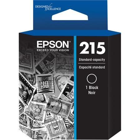 Epson T215 DuraBrite Ultra Standard Capacity Ink Cartridge for WF-100  Wireless Mobile Printer, Black