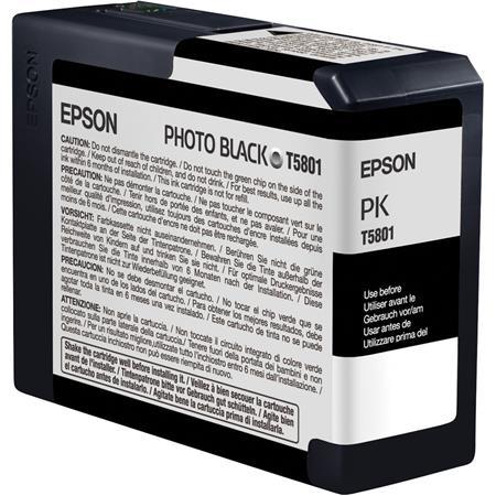 Epson Photo Black 80 ml UltraChrome K3 Ink Cartridge for Stylus Pro 3800 &  Stylus Pro 3880
