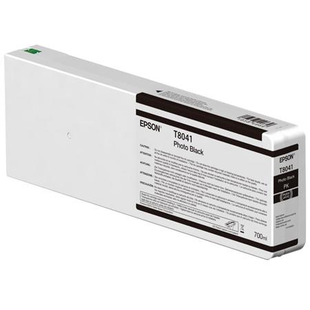 Epson UltraChrome HD Photo Black 700mL Ink Cartridge T804100