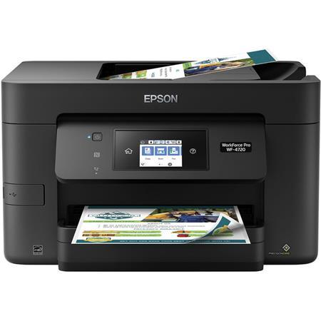 Epson WorkForce Pro WF-4720 All-in-One Inkjet Printer, 4800x1200 - Print,  Copy, Scan, Fax