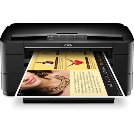 Epson WorkForce WF-7010 Wide-Format Inkjet Printer C11CB59201 N