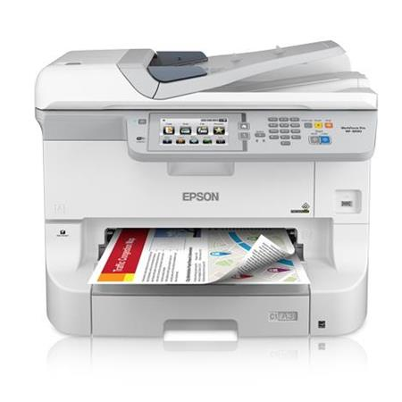 Epson WorkForce Pro WF-8590 A3 Network Multifunction Color Inkjet Printer,  24ppm Black/Color, 4800x1200 dpi, 330 Sheet Standard Input Tray - Print,