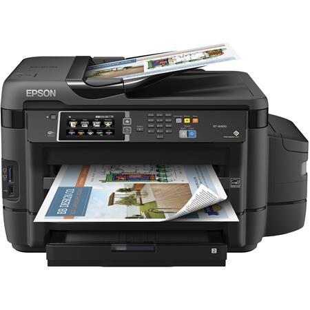 Epson WorkForce ET-16500 EcoTank Wide-Format All-in-One Wireless Inkjet  Printer, Up to 13x19