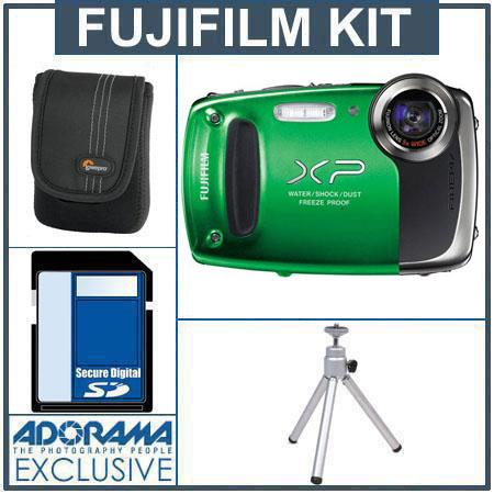 fujifilm finepix xp50 digital camera green bundle 16233439 ka rh adorama com Fujifilm Jx665 Digital Camera Fuji S3280 Manual