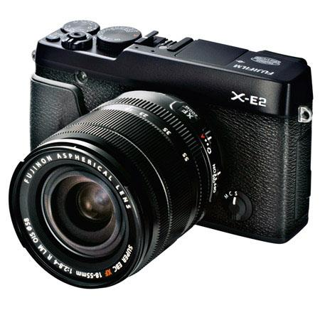 Fujifilm X-E2 Mirrorless Camera w/18-55mm Lens Bundle
