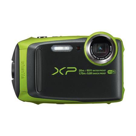 fujifilm finepix xp120 digital camera green