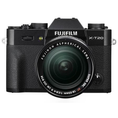 Fujifilm X-T20 Mirrorless Camera w/XF 18-55mm F2.8-4 R LM OIS Lens ...