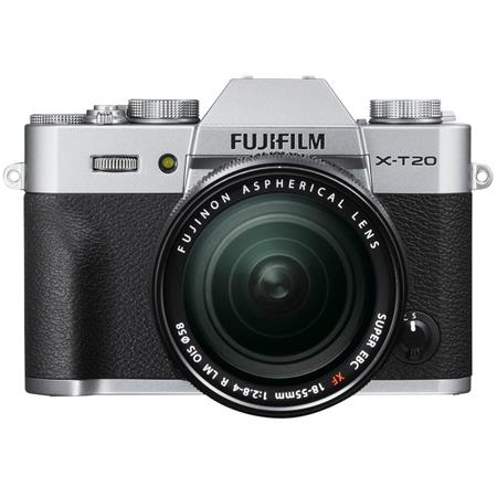 Fujifilm X-T20 24.3MP Mirrorless Digital Camera with XF 18-55mm ...
