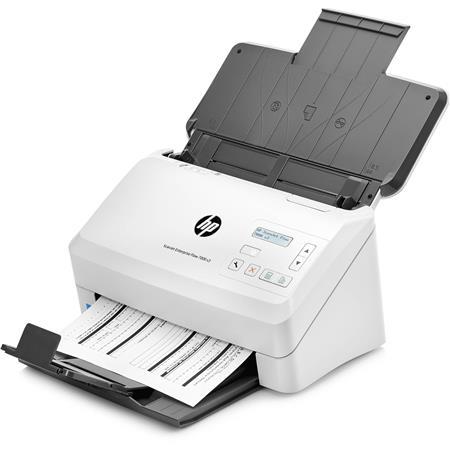 HP ScanJet Enterprise Flow 7000 s3 Sheet-Feed Document Scanner, 600 dpi  Optical, 80 Sheet ADF