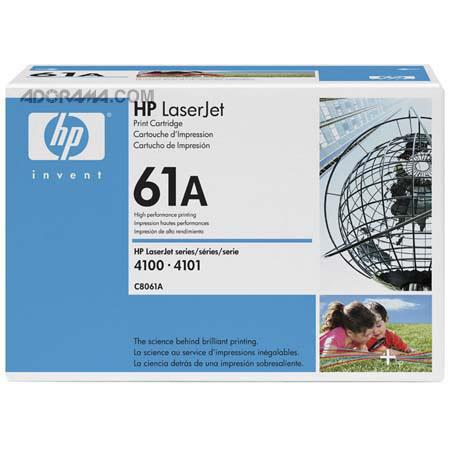 HP LaserJet C8061A Black Print Cartridge, 6000 Pag C8061A - Adorama