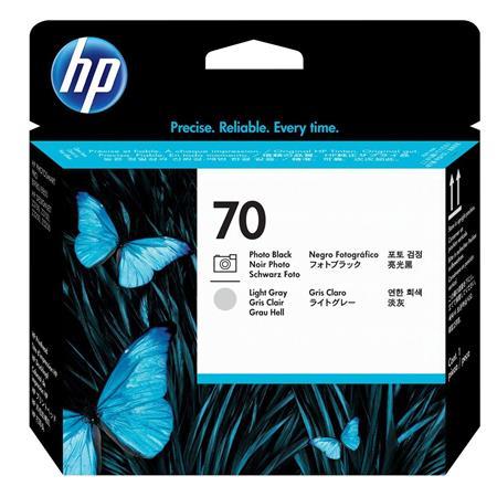 HP 70 Printhead Photo Black//Light Gray