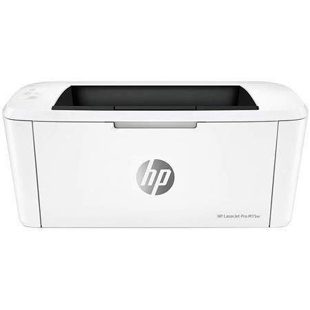 HP LaserJet Pro M15w Monochrome Wireless Laser Printer, 19ppm, 600x600 dpi,  150 Sheets Input Tray
