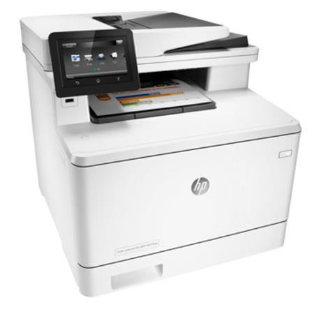 HP LaserJet Pro M477fdw Wireless Color All-in-One Multifunction Laser  Printer, Up to 28ppm Black/Color, 600x600 dpi, 300 Sheet Input Tray -  Print,
