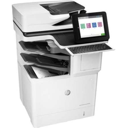 HP LaserJet Enterprise Flow M632z Monochrome Multifunction Laser Printer,  65ppm, 1200x1200 dpi, 3200 Sheet Standard Capacity, Auto Duplex - Print,