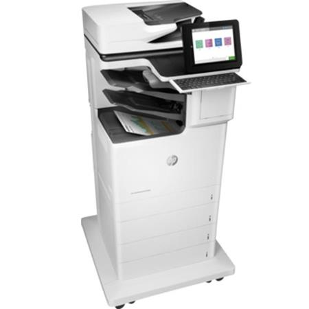 HP Color LaserJet Enterprise Flow M681z All-In-One Laser Printer, 50ppm,  1200x1200 dpi, 2300 Sheet Standard Capacity, Auto Duplex - Print, Scan,  Copy,