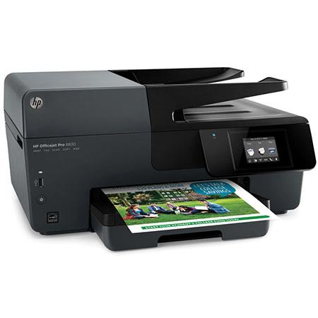 HP Officejet Pro 6830 Inkjet All-In-One Printer