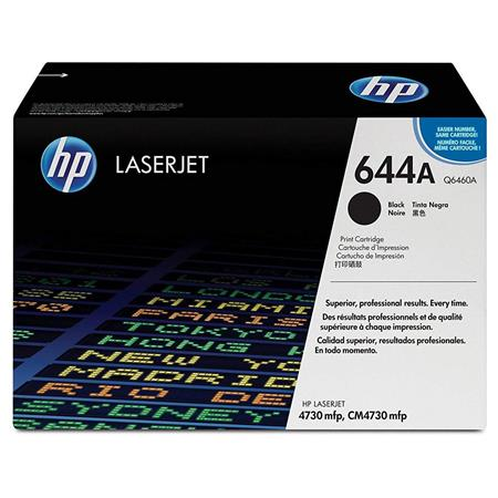 HP Color LaserJet Q6460A Black Print Cartridge with 12,000 Pages Yield  Capacity