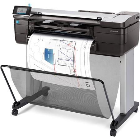 Hp designjet t830 24 color multifunction color thermal inkjet printer hp designjet t830 picture 1 regular fandeluxe Gallery