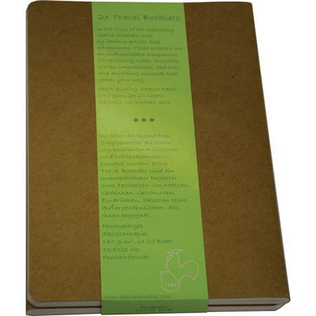 Hahnemuhle Travel Booklet, 3 5x5 5