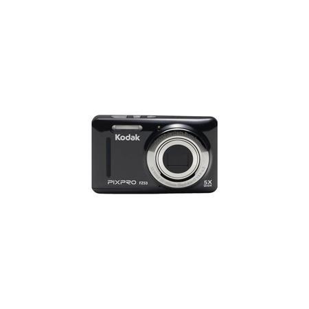 KODAK PIXPRO FZ53 Friendly Zoom Digital Point & Shoot Camera, Black