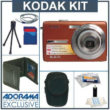 Kodak EasyShare M863 Digital Copper Camera Kit, with 2 GB SD