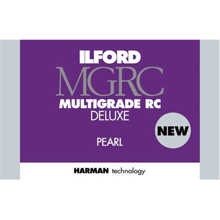 Ilford Multigrade IV RC Deluxe Resin Coated VC Variable Contrast Black /& White Enlarging Paper Pearl Surface 8x10-250 Sheets