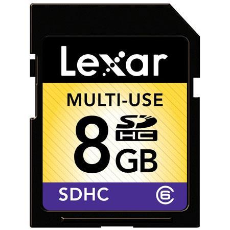 Lexar 8GB SDHC: Picture 1 regular