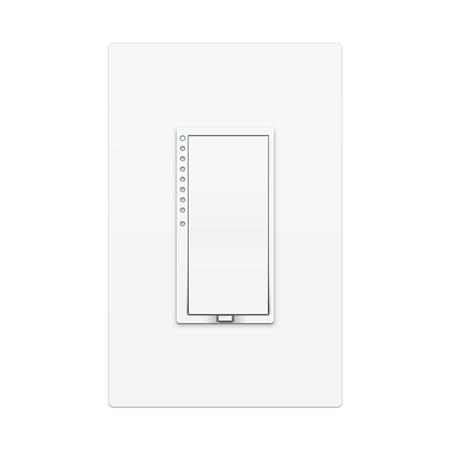 Insteon SwitchLinc Remote Control 2-Wire RF Dimmer Switch, Paddle, White