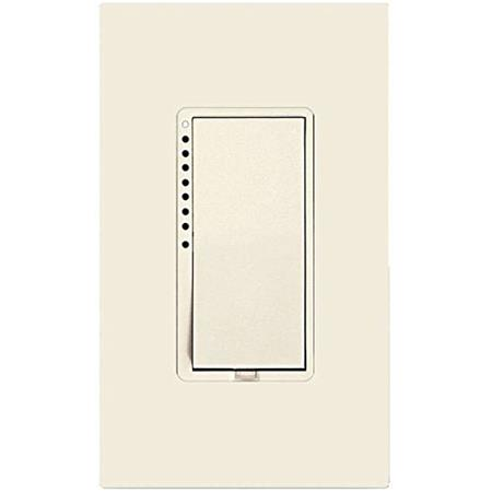 insteon remote control wall dimmer switch light almond 2477dlal. Black Bedroom Furniture Sets. Home Design Ideas