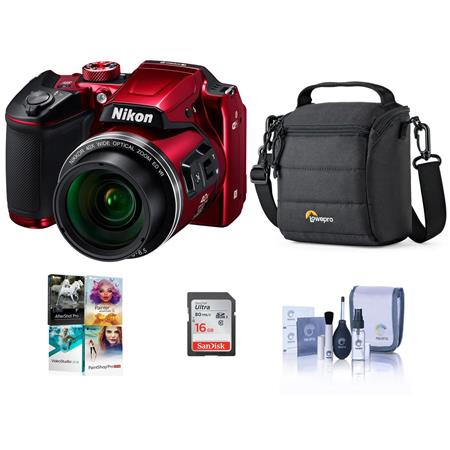 nikon coolpix b500 red nikon coolpix b500 digital point amp shoot with free 280