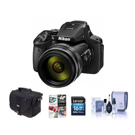 timeless design super specials 50% price Nikon COOLPIX P900 Digital Camera and Free Accessories