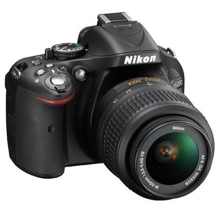 Nikon D5200 Dslr Camera With 18 55mm F 3 5 5 6g Vr Lens Black 1503
