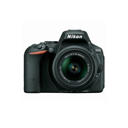 Nikon D5500 Digital SLR Camera Kit with AF-S DX 18-55mm f/3.5-5.6G VR II Lens, Black - Refurbished by Nikon U.S.A. Inkd5500bkr