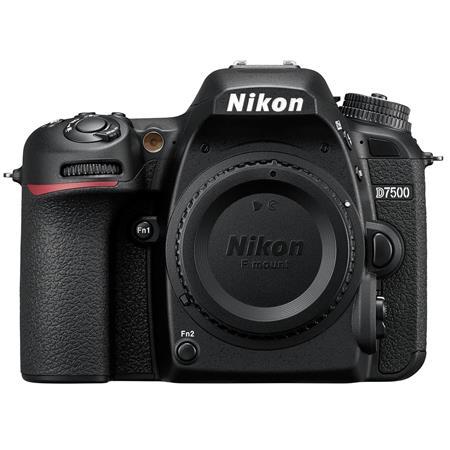 Nikon D7500 DX-format Digital SLR Camera Body, Black