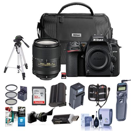 Nikon D7500 DSLR with 18-300mm VR Lens - With Premium Accessory Bundle