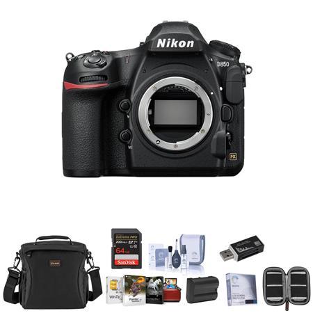 Nikon D850 DSLR Camera Body With Free Mac Accessory Bundle