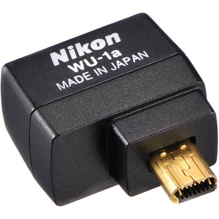 1338447226d Nikon WU-1a Wireless Mobile Adapter 27081 - Adorama