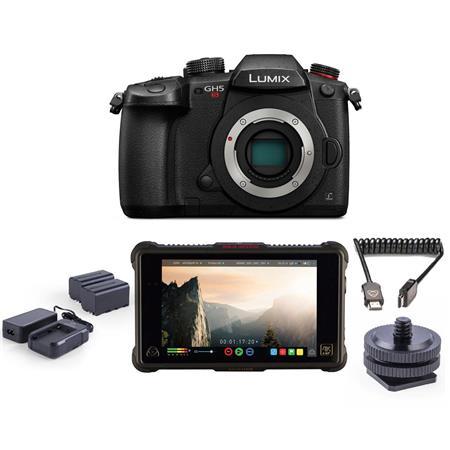 Panasonic Lumix DC-GH5s Camera Body and Atomos Ninja Inferno 7
