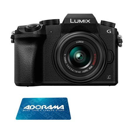 Panasonic DMC-G7 16MP Camera w/14-44mm Lens & $50 GC