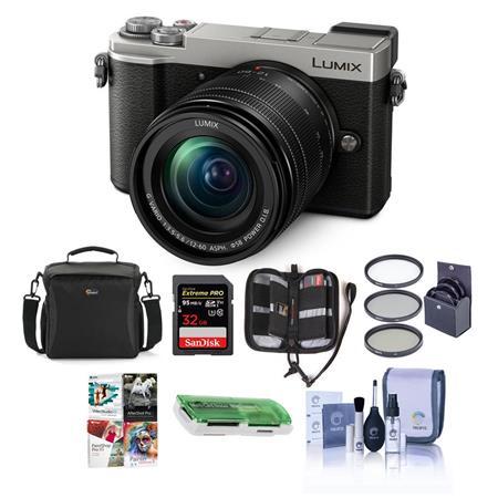 Panasonic Lumx DC-GX9 Mirrorless Camera w/12-60mm Lens Silver And Free  Accessory