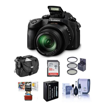 Panasonic Lumix DMC-FZ1000 Digital Camera with Free Mac Accessory Bundle