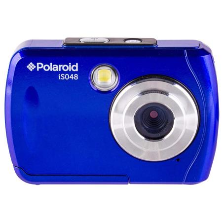 Polaroid Is048 16mp Waterproof Digital Camera Blue Is048 Blue