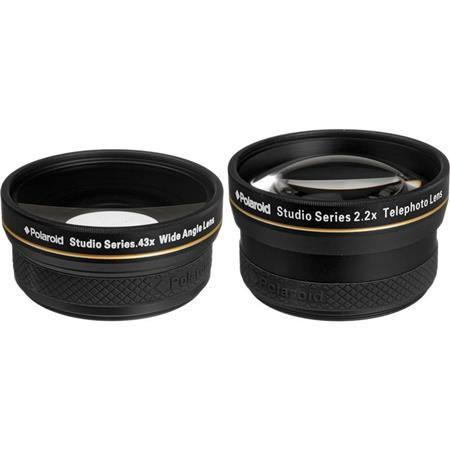 780d725e5d Polaroid Studio Series 58mm 2.2x Telephoto   0.43x Wide Angle Travel ...