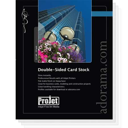 Projet Card Stock Matte Photo Paper 5x7 100 Sheets Double Sided