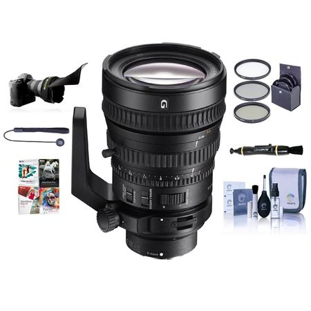 Sony 28-135mm F4 Full-frame Power Zoom E-Mount NEX Camera Lens W ...