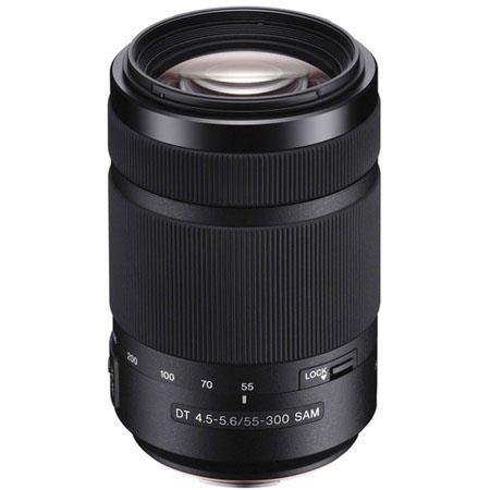 sony 55 300mm f 4 5 5 6 dt sam telephoto zoom lens for a alpha dslr rh adorama com Sony 300 Camera Sony 300 Camera