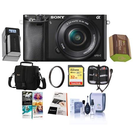 Deluxe Compact Camera Case Carrying Bag For Sony Alpha A6000 ILCE-6000 NEX-3N