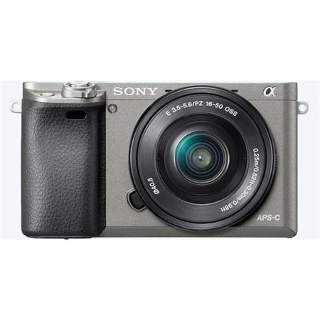 Sony Alpha A6000 Mirrorless Digital Camera with 16-50mm E-Mount Lens,  Graphite